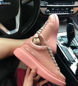 2020 NEW Casual Shoes Women Men Mens Daily Lifestyle Skateboarding Shoe Trendy Platform Walking Trainers Black Glitter Shinny km01