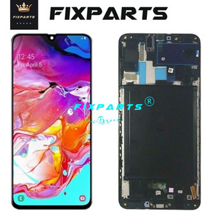ORIGINAL SUPER AMOLED LCD for SAMSUNG Galaxy A70 A705 Display Touch Screen Digitizer Assembly A70 2019 A705F LCD For SAMSUNG A70