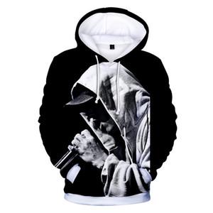 EMINEM 3D Designer Hommes Hoodies Mode Eminem Imprimer hoodies Hommes Pullovers