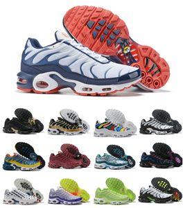 Hombres Tn original Zapatos 2020 zapatos de moda de lujo diseñador Aire Tn zapatillas de deporte Plus Ultra barato OG SE Chaussures Hommes Noir Maxes entrenadores deportivos