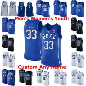 Duke Blue Devils Колледж Баскетбол Джерси Остин 0 Rivers Джерси Джастин 50 Robinson Кассий Стэнли Джек Уайт Фрэнк Джексон 15 Customized