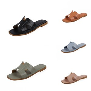 Fascinating2020 Time Leisure Comfortable Flat Bottom Slippers Pinch Concise Cavity Women Shoes#925