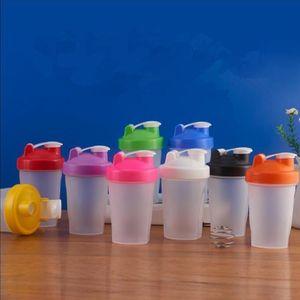 Deportes Botella Shaker Mezclador Botella de plástico Shaker Botella Deportes Fitness Ergadura Afeitadora Agua Botellas Agua Portátil Atleta Al Aire Libre Tazas C826