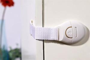 Verrouillage de sécurité pour enfant Infantile Bébé Enfants Réfrigérateur Toilette Porte Tiroir Armoire Placard Toddler Serrures Enfants Serrure Tiroir