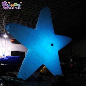 Özelleştirilmiş 2 m / 3 m / 4 m led şişme yıldız / dev şişme yıldız / parti için geleneksel şişme yıldız balon-oyuncaklar