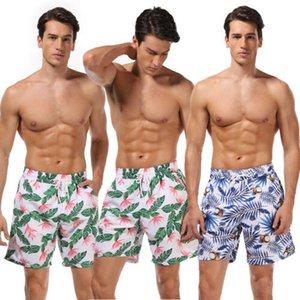 Aile Eşleşen Mayo Erkekler Çocuklar Yaz Beachwear Çiçek Baskı Şort Yüzme Yüzme Sandıklar Baskı Çabuk kuru Pantolon ile