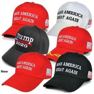 Donald Trump Cap 16 Styles Trump 2020 Hat Make America Great Again Baseball Cap Outdoor Summer Beach Hats OOA6847