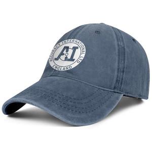 Accuracy International Logo Unisex Denim-Baseballkappe versehen entwerfen Sie Ihre eigenen netten modische Hüte Logo Union Jack Kunst