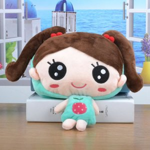 Plush toy wallet one shoulder cartoon girl diagonal bag children bag child mini coin bag child piggy bank