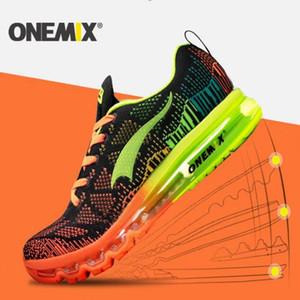 Onemix poco costosi di sport Scarpe Uomo scarpe da corsa scarpe da tennis all'aperto Luce fredda scarpa outdoor Sneakers Walking