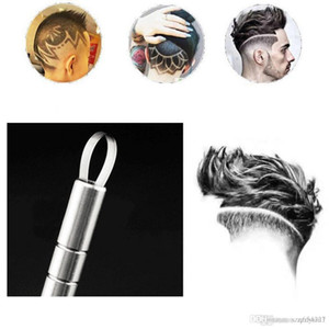 Salon Magie Multifonctionnel Gravure cheveux stylo rasoir rasoir Set Barbe Hair Design Outils Barber Sourcils Cheveux soutiers