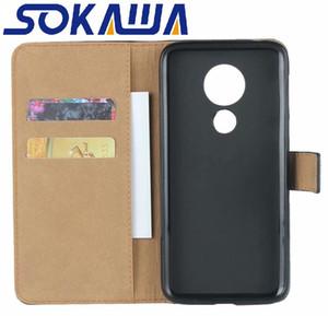 Para Motorola Moto Plus G7 G7 G8 Poder Moto Plus / Motorola libro Una Acción de Protección caso del soporte de la tarjeta Monedero cubierta del cuero del teléfono