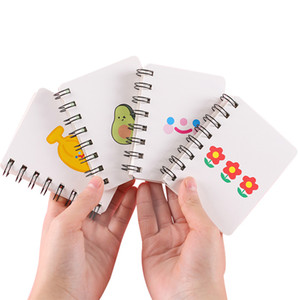 School Supplies 80 Papers Cute Kawaii A7 Spiral Notebook High Quality Students Portable Notebook Pocket Book for Gift