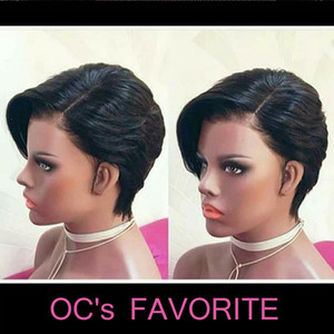 OC903 Europa e in America del parrucca capelli dritti lungo cofano anteriore di pizzo nero capelli reale possono essere tinti cinese all'ingrosso di sostegno libero di trasporto dei capelli