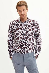 Рубашка мужская с длинным рукавом DeFacto-M4174AZ19AU