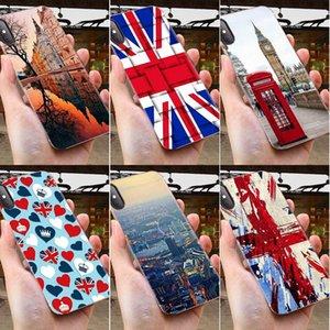 المملكة Tarjetero فون الموضة في لندن حار بيع الأزياء للحصول على سامسونج غالاكسي ملاحظة 5 8 9 S3 S4 S5 S6 S8 S7 S9 S10 5G مصغرة حافة زائد لايت