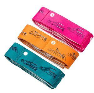 Yoga resistance rubber bands indoor outdoor fitness equipment pilates sport training workout elastic bands sport supplies