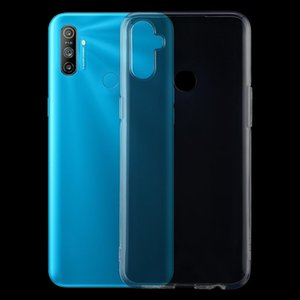 For OPPO Realme C3 TPU Ultra-Thin Transparent Mobile Phone Case