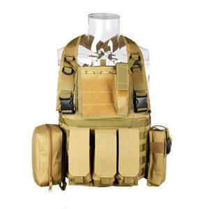 CQC RRV tattici Molle della maglia di assalto di combattimento Chest Rig caccia Polizia di Paintball di caccia di protezione Body Armor Vest