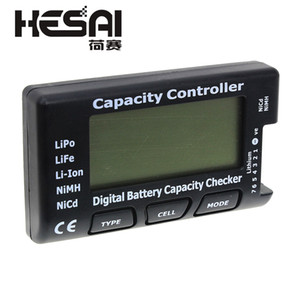 Cheap Testers RC CellMeter-7 Digital Battery Capacity Checker LiPo LiFe Li-ion Nicd NiMH Battery Voltage Tester Checking CellMeter 7