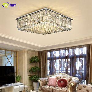 FUMAT Crystal K9 Lampade da soffitto telecomandate a distanza Lampadari di lusso Luci LED Luminaria Living Dining Room Light Hanglamp