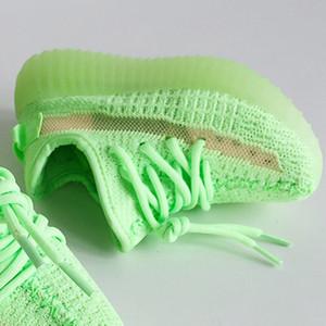 مع Box Static V2 2.0 أحذية أطفال الأطفال الشباب ولدت Beluga الأسود الصغار كاني ويست V2 الاحذية أحذية رياضية 350s