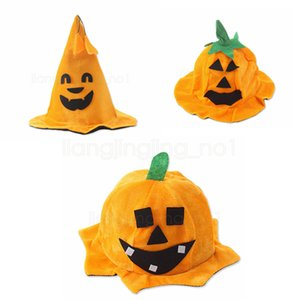 3styles Kürbishut Halloween Performance Requisiten Kürbisse Hut Kürbiskostüm Kürbis Barrel Kappen Bevorzugungsgeschenk Tanzparty FFA2984