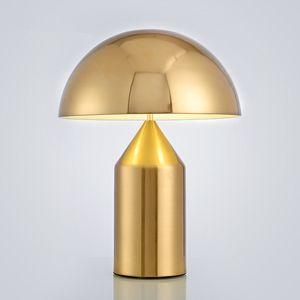 Posmoderna minimalista dormitorio de la luz mesa de estudio luz nórdica personalidad creativa de setas lámpara de mesa de 90 V 260 V `