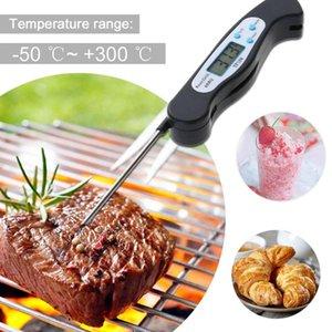 Dijital Anında Gıda Pişirme Et Termometre w / Gıda Pişirme Et BARBEKÜ için Katlanır Prob