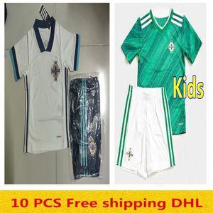 2020 الاطفال كيت لكرة القدم الفانيلة أيرلندا الشمالية افرتي ماكنير MAGENNIS الخضراء الأطفال كرة القدم قمصان موحدة
