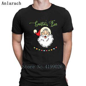 Christmas Santa Claus T-Shirts O-Neck Standard Design Tee Tops Slogan T Shirt Streetwear Nice Anlarach