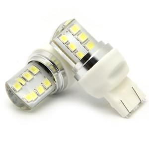 10PCS 7443 T20 flash stroboscopique automatique Ampoule LED clignotant Switchback frein feux arrière lampe frein voiture ampoule led rouge clignote queue d'arrêt de lumière 12v