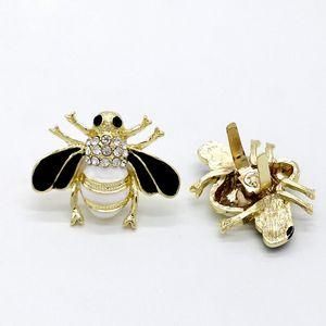 Borsa Hardware Strass Piccola Ape Borsa di metallo Parti Accessori Fai da te Borsa per insetti Ornamento Fibbia per scarpe Fibbia all'ingrosso