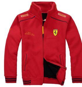 F1 Race Costume Hommes Polaire Veste Manteaux Tops Chemise costume Pegasus Racing Vestes d'homme