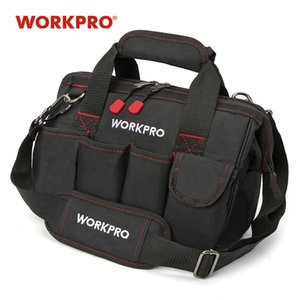 s Packaging Tool WORKPRO 12 inch Tool 600D Polyester Electrician Shoulder Bag Tool Kits Bag