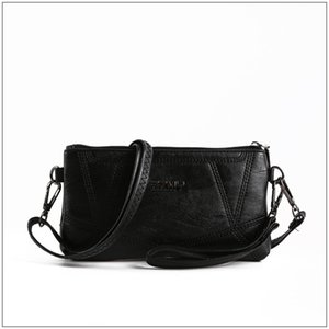 Middle-aged and Elderly Mother Bag New Small Bag Female New Spring and Summer Clutch Bag to Buy Food Shoulder Diagonal Soft Leather
