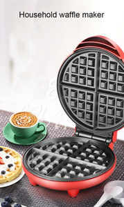 Mini eléctrico Waffles fabricante de burbuja huevo Pastel Horno desayuno Waffle máquina huevo Pastel Horno Pan Eggette automático Mini galleta Pot