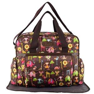 PVC Waterproof Mummy Maternity Nappy Bag Multi-pocket Baby Nappy Diaper Bag Stroller Zipper Handbag Baby Nursing Bag