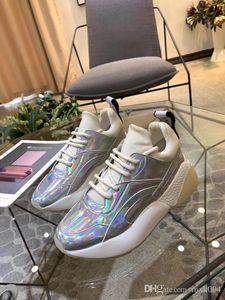 Perfect Quality Stella Eclypse кружева кроссовки Лондон дизайнер Дизайнерская Mccartney Шнуровке Коренастый Подошва Женская обувь 35-40 bh05