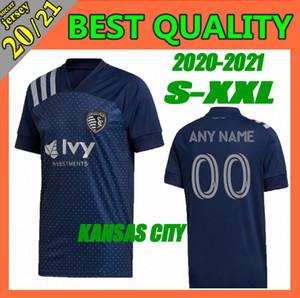 2020 nuevos Sporting Kansas City Fútbol MLS 2021 PULIDO Busio RUSSELL Gerso un poco camisetas de Gutiérrez