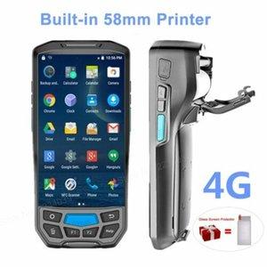 58mm Thermal Printer 4G Handheld POS Terminal Wireless 1D 2D Barcode Scanner New