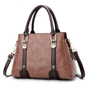 Women Messenger Bags Ladies Tote Small Shoulder Bag Woman Brand Leather Handbag Fashion Bag With Scarf Lock Designer 2020 New