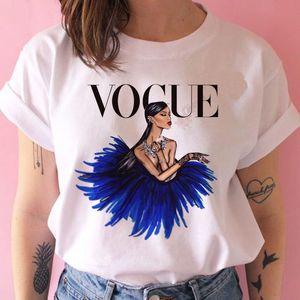 Kadın Üst Giyim Kısa Kollu O-Yaka T-Shirt Tunik Bluz Baskı Ana Kısa Kollu Yumuşak Bluz Boyutu 20 Tops Renk (S-3XL))
