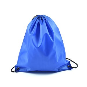 Waterproof Drawstring Oxford Cloth Storage Bag Solid Toys Storage Organiser Travel Shoes Laundry Lingerie Makeup Pouch Bags