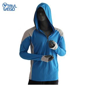 TRVLWEGO Balıkçılık Giyim Erkek Nefes UPF 50+ UV Koruma Açık Spor Yaz Gömlek Güneş Koruma Gömlek Balıkçılık