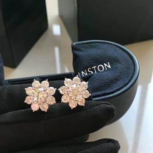 pendientes de las mujeres del encanto nueva WSJ000 joyería con exquisita caja de regalo # 120615 wsj388