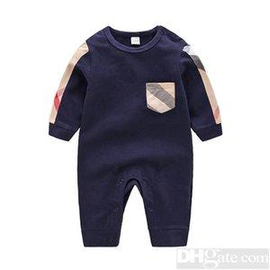 2019 라운드 넥면 유니폼 의류 새로운 신생아 장난 꾸러기 소년 소녀 의류 긴 소매 유아 제품 봄 가을 - 5