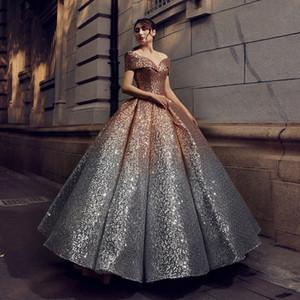 Frauen Vestidos Shinning reizvolle formale Kleid-Berühmtheit süße Kleider Spitze Pailletten Rohr Abendkleid Frauen Brautkleider Luxus