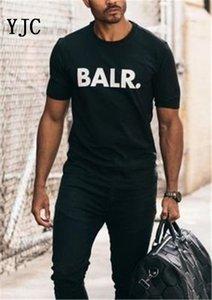 2020 Nuovo Balr progettista magliette Hip Hop Mens del progettista delle magliette di marca di modo delle donne degli uomini manica corta Large Size XS-XXL EL-2