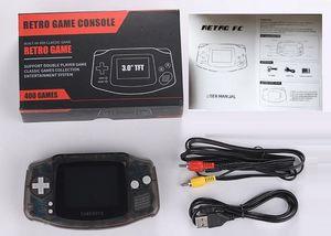 Coolbaby RS-5 ريترو المحمولة المصغرة المحمولة لعبة وحدة التحكم يمكن تخزين 400 ألعاب 8 بت 3.0 بوصة لون LCD لعبة اللاعبين مع مربع